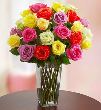 Assorted Roses, 12-24 Stems