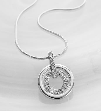 SWAROVSKI� Crystal Circle Necklace