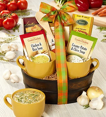 Soup's On Gourmet Soup Collection Gift Basket