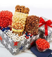 The Popcorn Factory Patriotic Sampler