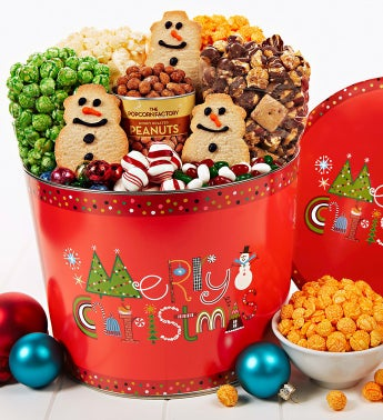 The Popcorn Factory� Merry Christmas Snack Asst