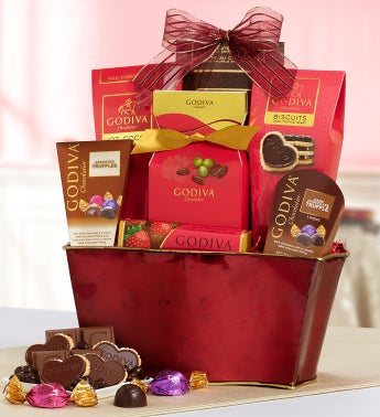 Godiva�  Be My Valentine Chocolates Basket