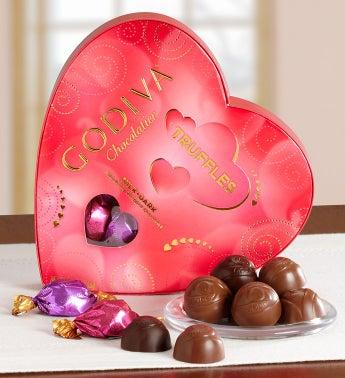 Godiva� Truffle Heart Box