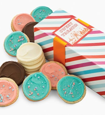 Cheryl's Carnival Frosted Cookie Gift Box-12ct