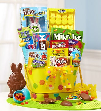 Happy Easter Dots Gift Basket