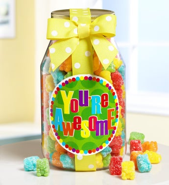 You're Awesome! Teddy Gummies Jar