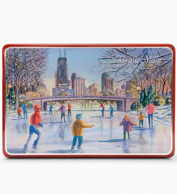 Fannie May� Chicago Holiday Chocolate Tin 1.5LB