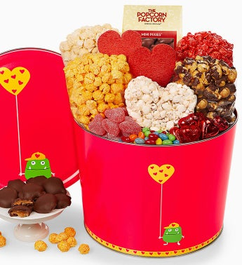 The Popcorn Factory� Valentine Monster Snack Asst