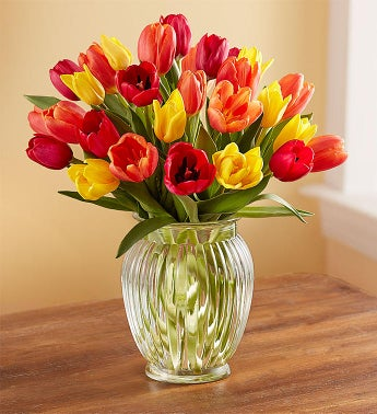Autumn Tulip Bouquet, 15 - 30 Stems