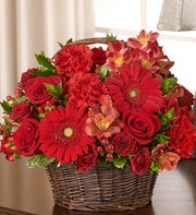 All Red Basket