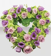 International England - Lilac & Lavender Heart