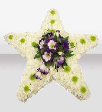 Lisianthus Star Cushion