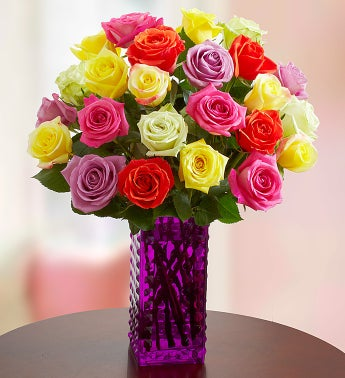 Beautiful Bounty Assorted Roses, 24 Stems