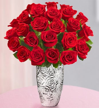 Lovely Mom Red Roses, 24 Stems
