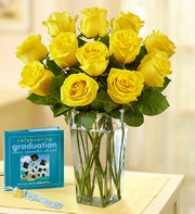 Sunshine Roses for Graduation