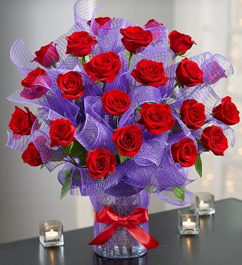 Valentine Passion? Premium Long Stem Roses