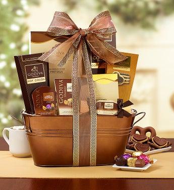 Godiva� Decadence Gift Basket