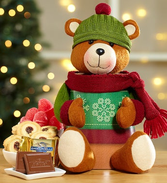 Bear Sweets Plush Tower
