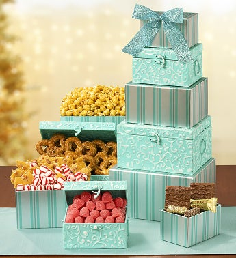 Exquisite Joy Gourmet Gift Tower
