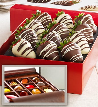 Fannie May 12 Ct Strawberries 12 Pc Artisan Bundle
