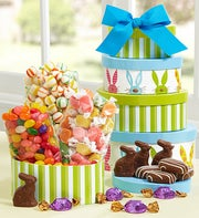 Easter Tower Gift - 1800baskets.com