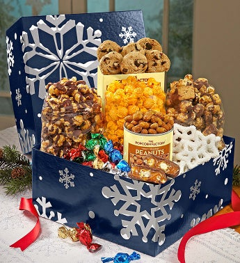 The Popcorn Factory� Snowy Night Sampler