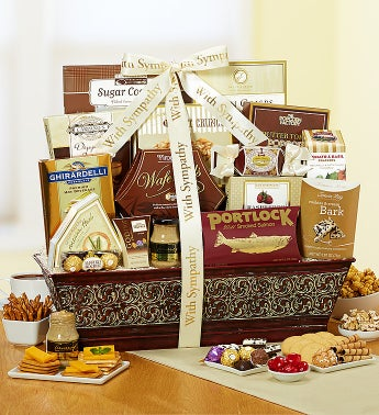 We'll Always Remember Sympathy Basket
