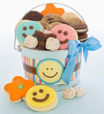 Cheryl's Happy Face Treats Pail