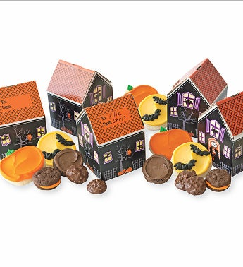 Cheryl's Haunted House Treats Boxes