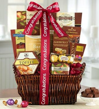 Congratulations! Deluxe Balsam Gift Basket