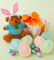 Cheryl's Plush Easter Bunny Bear - Treats