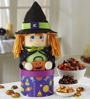 Happy Halloween Witch Tower of Sweets