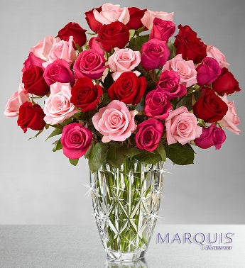 Enchanted Rose Medley - Marquis Waterford� Vase