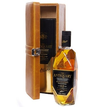 Antiquary Whisky Gift Case