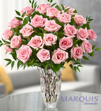 Marquis by Waterford� Premium Pink Roses