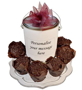 Double Choc Muffin Gift Tin