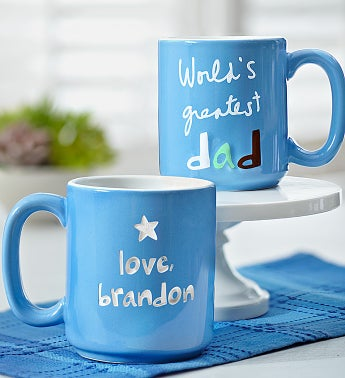 Personalized World?s Greatest Dad Mug