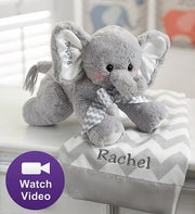 Bearington� Animated Personalized Elephant