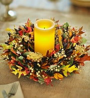 Preserved Autumn Glow Centerpiece ? 12""