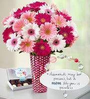Precious Mom Bouquet and Plaque