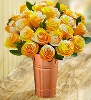 Candy Corn Roses, 12-24 Stems