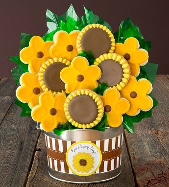 Cheryl's Sunflower  Flower Pot