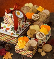 Cheryl's Autumn Gift Tin Tower
