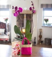 Pink Orchid Gift Bag
