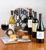 4 Bottle Bistro Wine Rack & Gourmet