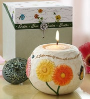 Sister Comfort in Bloom Candle Holder