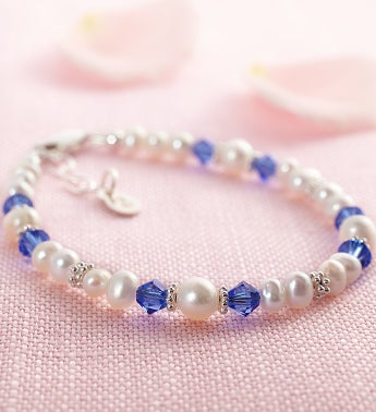 Child's Crystal Birthstone Bracelets