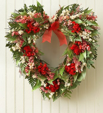 Preserved Heart Wreath