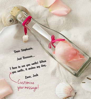 Message in a Bottle� Breast Cancer Awareness