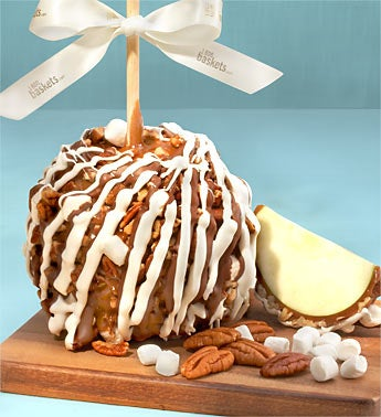 Gourmet Rocky Road Caramel Apple